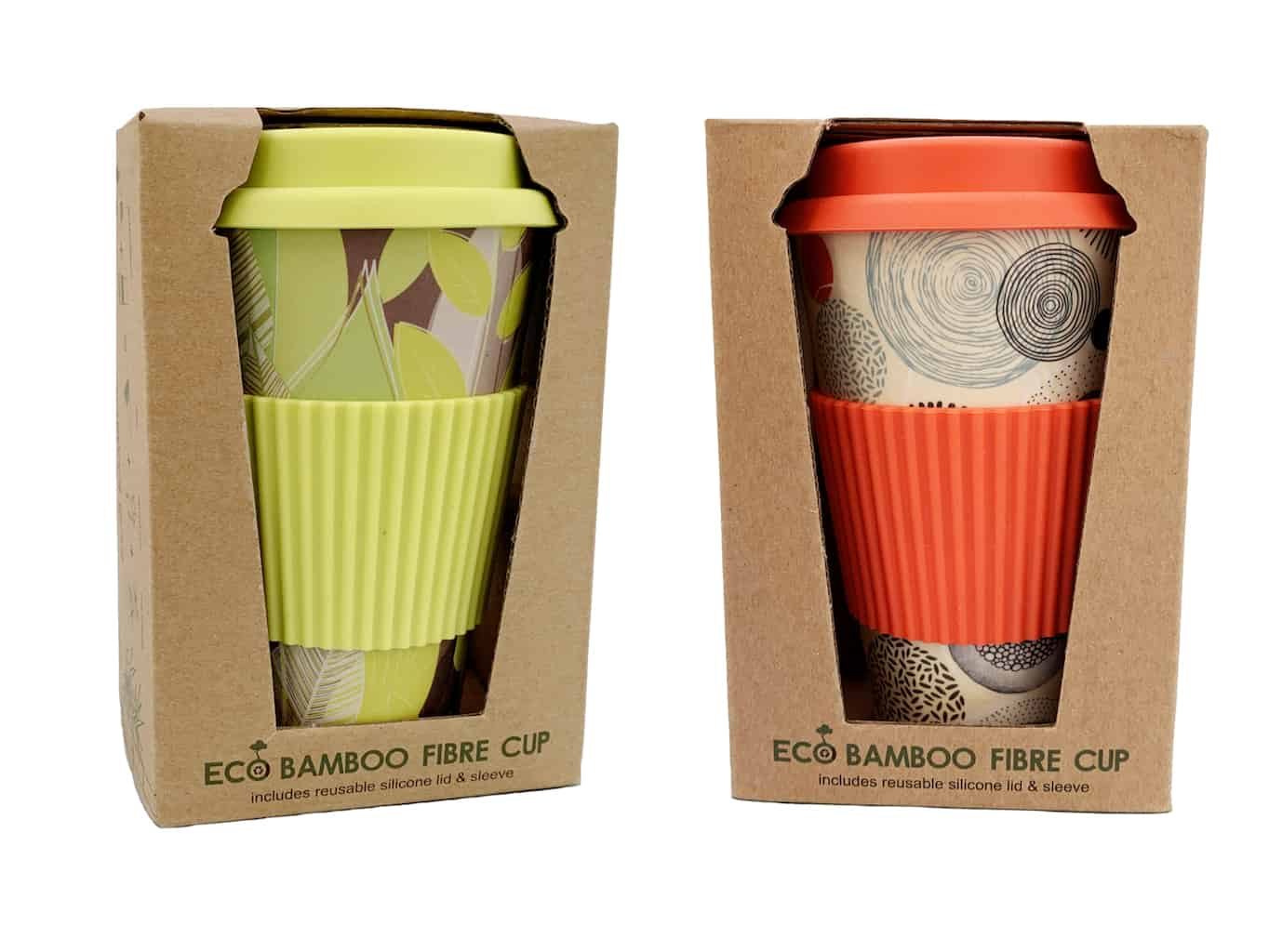 Eco Bamboo Fiber Coffee Cup | Ecorpor | Plant Fiber Products