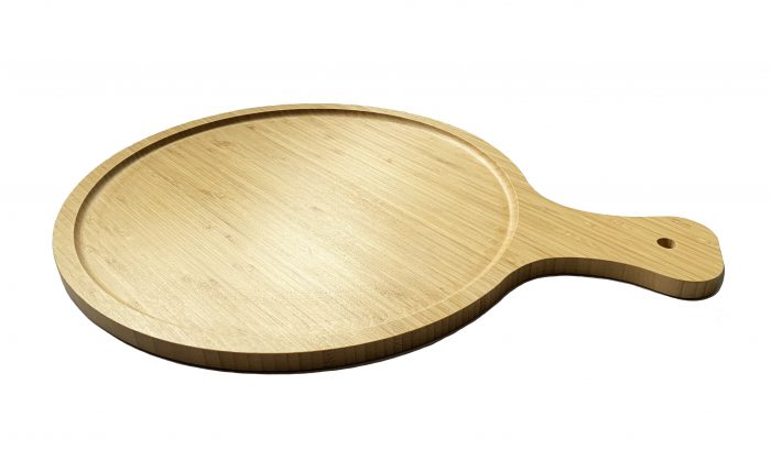 Bamboo Wooden Large Pizza Paddle Cheese Board