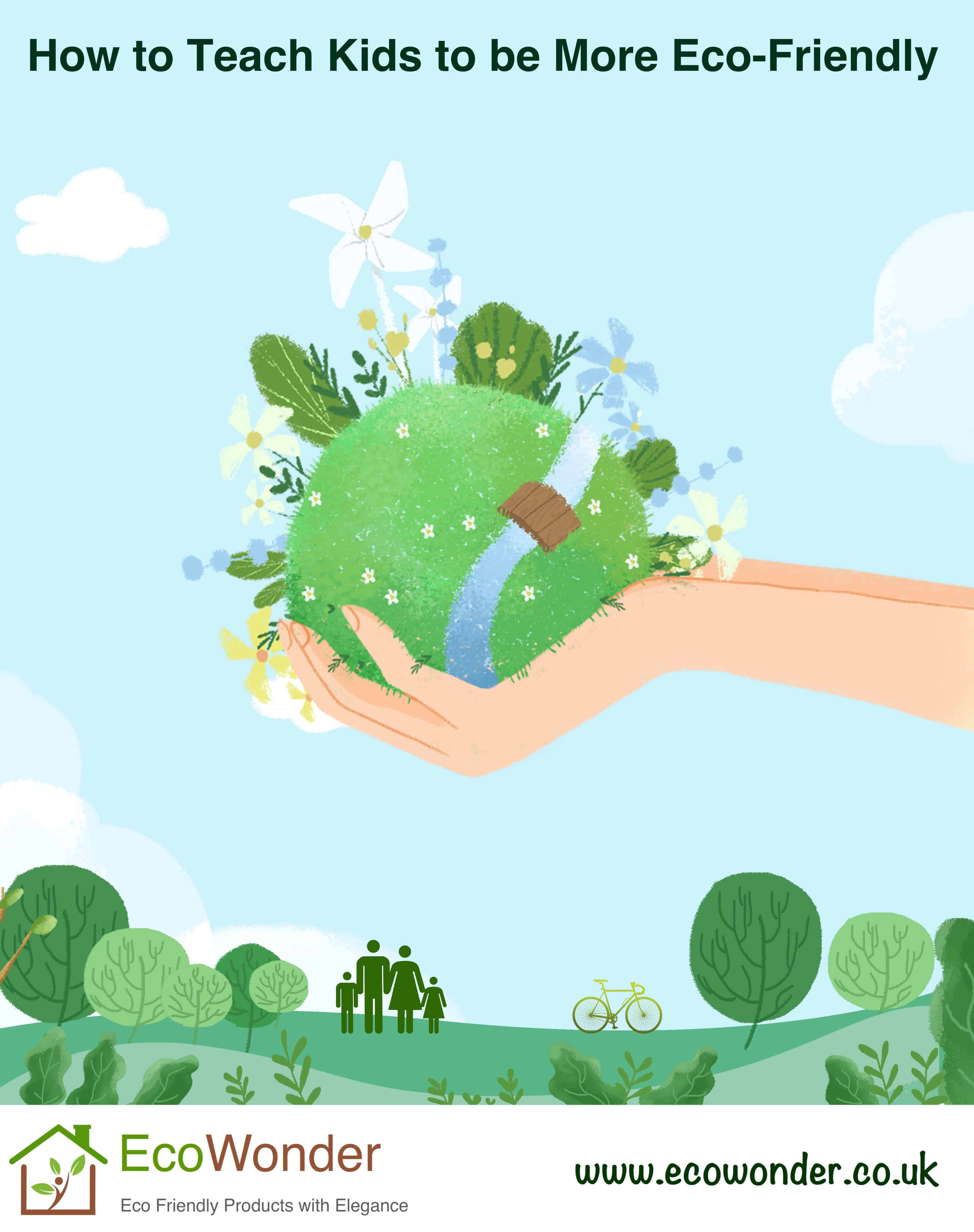 How To Teach Kids To Be More Eco-Friendly?
